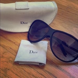 Black Dior Sunglasses